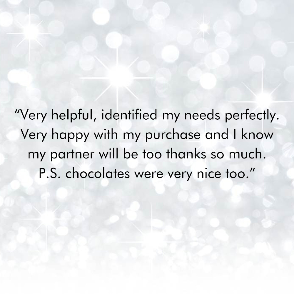 Customer Service Reviews, Drakes Jewellers, Plymouth
