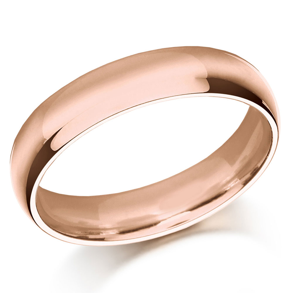 Wedding Ring, Plymouth, Rose Gold Wedding ring, Drakes Jewellers, Plymouth