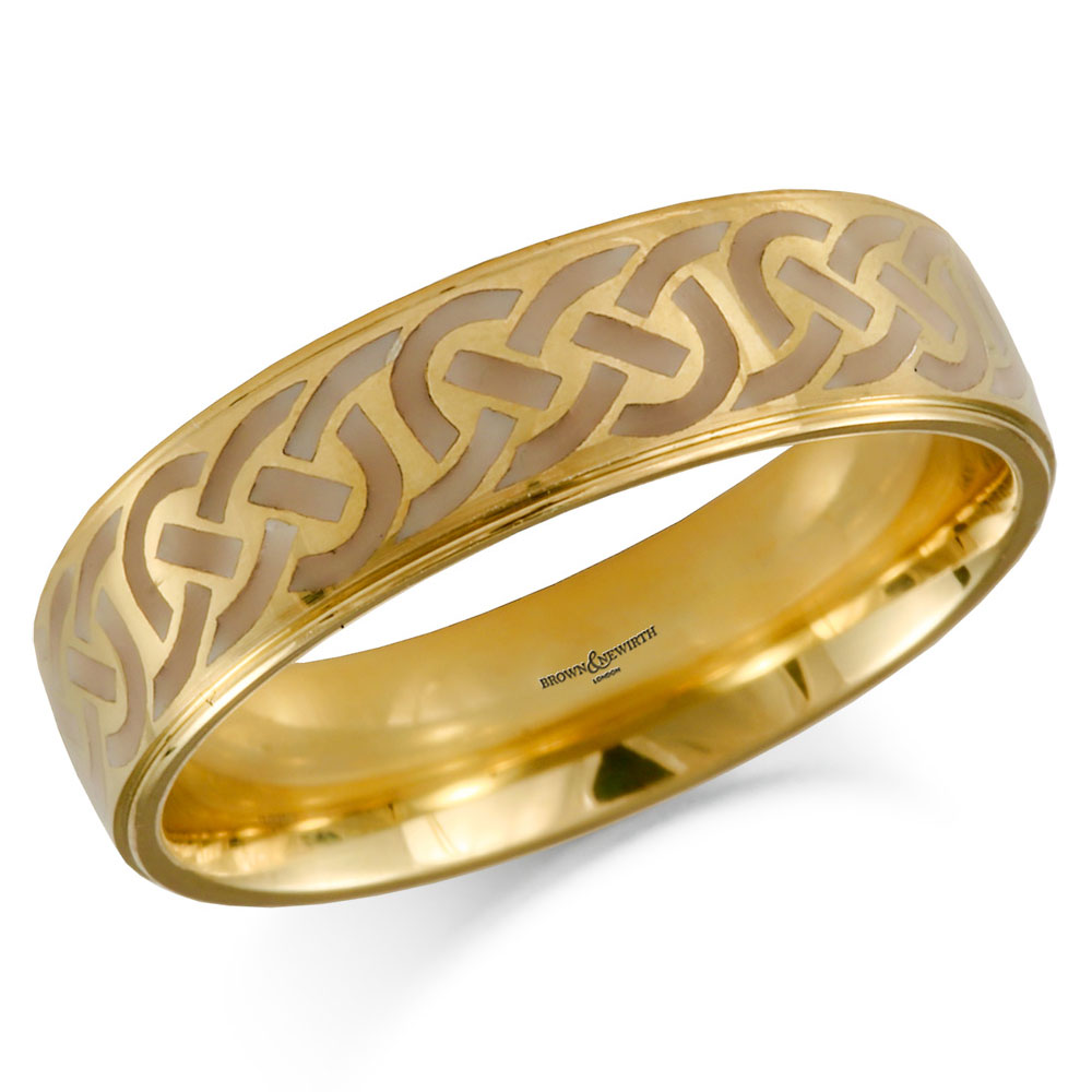 Wedding Rings, Drakes Jewellers, Plymouth, Patterned Wedding Ring