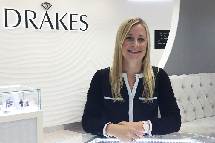 Drakes Jewellers,, Plymouth, Meet our Team, Store Manager, Gemma, Drakes