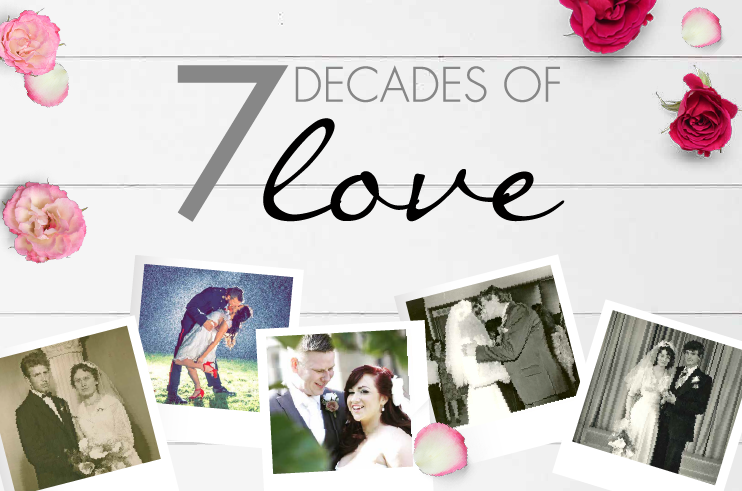 7 Decades of Love, Drakes Jewellers, Plymouth, Love,