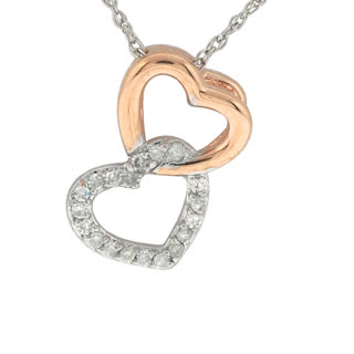 Diamond pendant, heart pendant, gifts to say i love you, drakes jewellers, jewellery