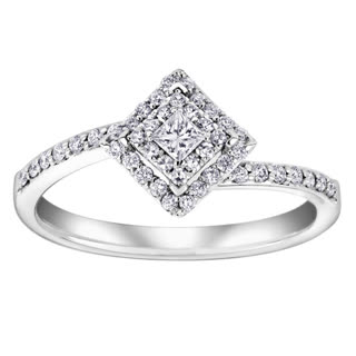 drakes jewellers white gold diamond vintage engagement ring