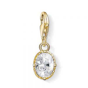 drakes jewellers plymouth oval charm yellow gold