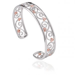 drakes jewellers plymouth cloagau bangle tree of life rose gold