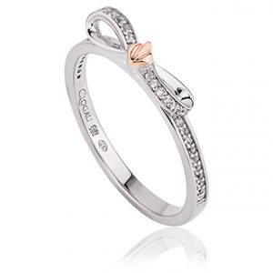 drakes jewellers plymouth cloagu rose gold BOW TREE OF LIFE RING