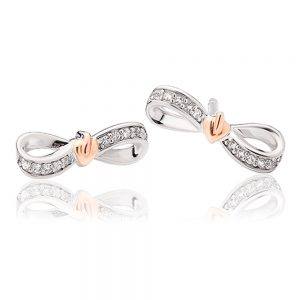 drakes jewellers plymouth bow earrings family tree life rose gold