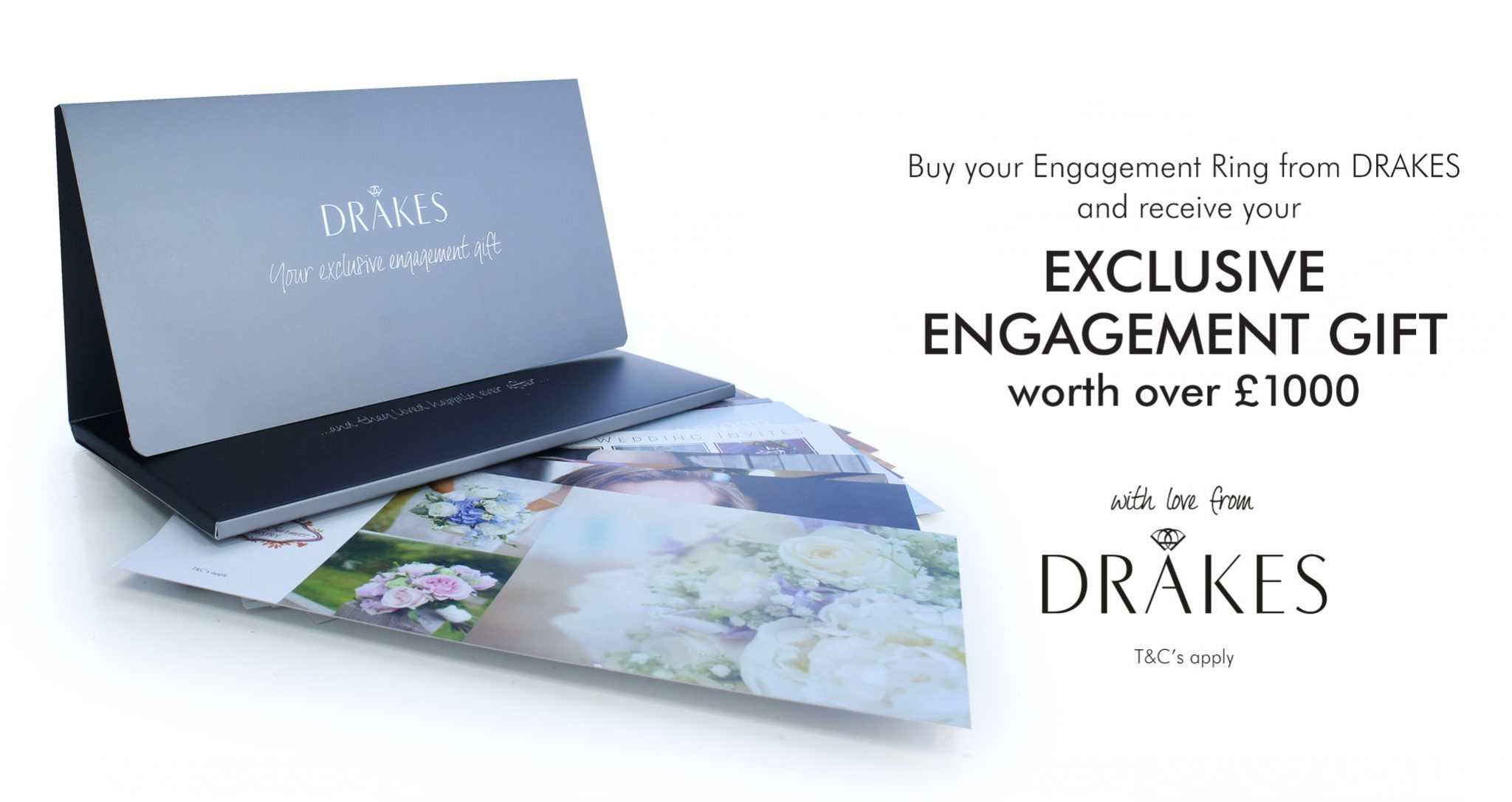 Engagement Gift Pack, New, Engagement, Love, Wedding, Proposal, Drakes Jewellers Plymouth, Drakes Jewellers, Plymouth