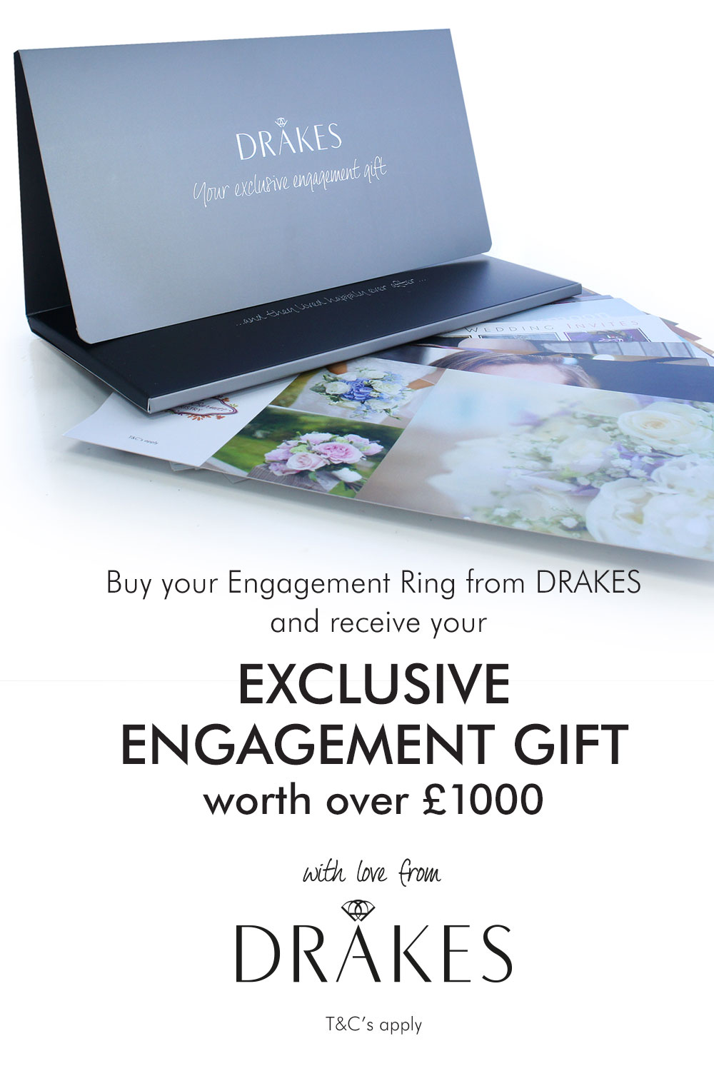 Drakes Jewellers Plymouth, Drakes Jewelles, Plymouth, Love, Wedding, Proposal, Engagement, Engagement Gift Pack