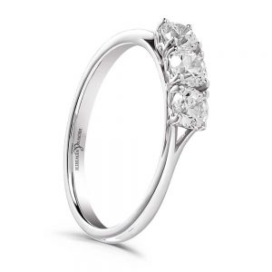 TRILOGY RING, Drakes Jewellers, Three Stone Diamond Ring, Drakes Jewellers