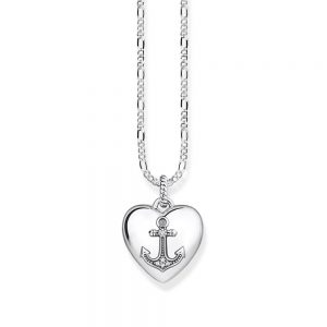 Anchor Heart Locket with Chain, Drakes Jewellers, Thomas Sabo, Thomas Sabo Anchor Heart Locket with Chain