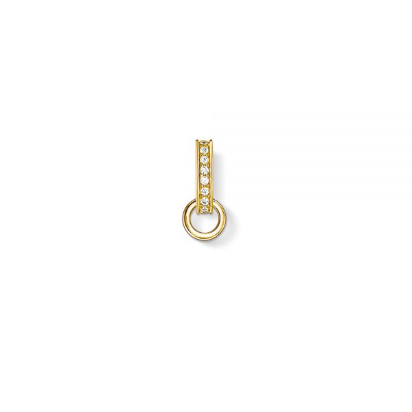 Yellow Gold Oval Carrier Charm, Thomas Sabo Yellow Gold Oval Carrier Charm, Drakes Jewellers, Thomas Sabo, Thomas Sabo Charm