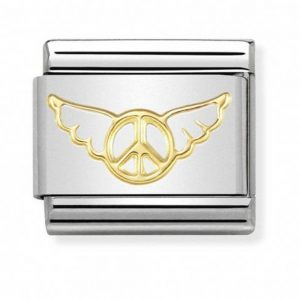 Drakes Jewellers Plymouth, Nomination Jewellery, Nomination Charm Women jewellery, Gift For Her, angel fo peace charm