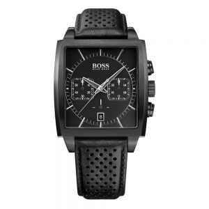 Drakes Jewellers Plymouth, Hugo Boss Watches, Mens Watches, Gifts For Him, square jet black watch