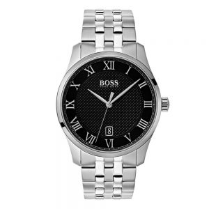 Drakes Jewellers Plymouth, Hugo Boss Watches, Mens Watches, Gifts For Him, stainless steel and black watch