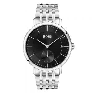 Drakes Jewellers Plymouth, Hugo Boss Watches, Mens Watches, Gifts For Him, stainless steel black watch