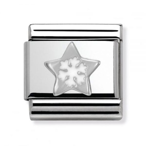 Drakes Jewellers Plymouth, Nomination Jewellery, Womens Jewellery, star snowflake charm