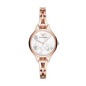 Drakes Jewellers Plymouth, Emoprio Armani Watches, Womens Watches, Gifts For Her, rose gold plated butterfly watches