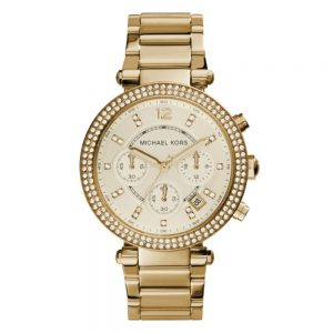 Drakes Jewellers Plymouth, Michael Kors Watches, Women's Watches, Gift For Her, Parker yellow gold watch