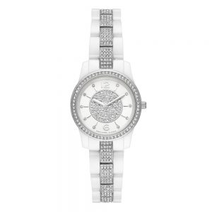 Drakes Jewellers Plymouth, Michael Kors Watches, Women's Watches, Gift For Her, silver white watch