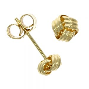 Drakes Jewellers Plymouth, Links of London jewellery, Womens jewellery, Gifts For Her, yellow gold knot earrings