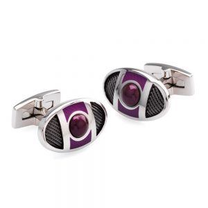 Drakes Jewellers Plymouth, Duncan Walton, Cufflinks, gift for him, purple cufflinks