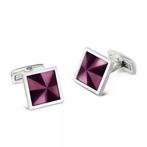 Drakes Jewellers Plymouth, Coeur de lion, gift for her, mason purple cufflinks