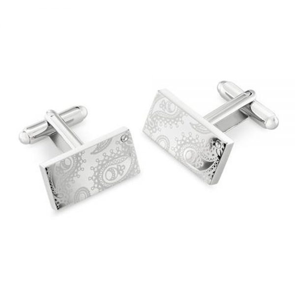 Drakes Jewellers Plymouth, Duncan Walton, paisley cuff links