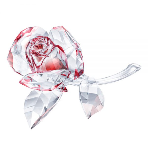 Drakes Jewellers Plymouth, Swarovski, Red Rose Blossoming, Crystal