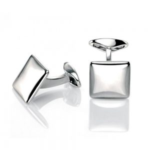 Drakes jewellers Plymouth, Fred Bennet, Gift For Him, Stainless Steel Cufflinks