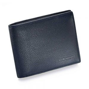 Drakes jewellers Plymouth, Fred Bennet, Gift For Him, blue leather Wallet
