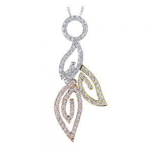 Drakes jewellers Plymouth, statement diamond pendant, yellow and white gold necklace