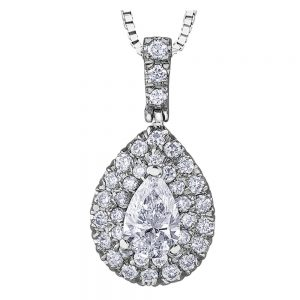 Drakes jewellers Plymouth, white gold ring, diamond Earrings, Gift For Her, white gold pear drop pendant
