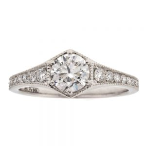 Drakes jewellers Plymouth, diamond ring, gift for her