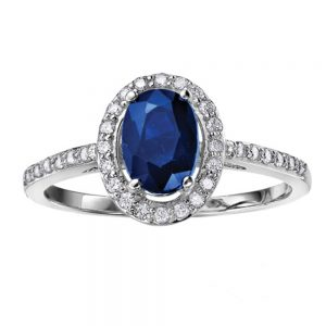 Drakes jewellers Plymouth, white gold ring, diamond Earrings, Gift For Her, sapphire oval ring, white gold ring