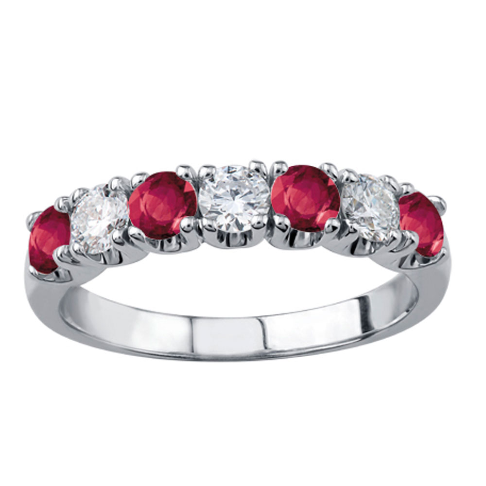 Drakes jewellers Plymouth, white gold ring, diamond ring, Gift For Her, Ruby diamond ring