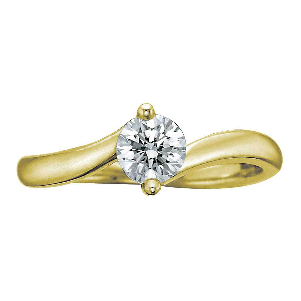 18ct Yellow Gold Single Diamond Ring Diamond Drakes Jewellers Plymouth South West