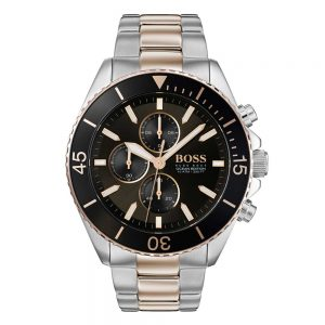 Hugo Boss, Draes Jewellers, Hugo Boss Watch, 2 Tone Ocean Edition Hugo Boss Watch