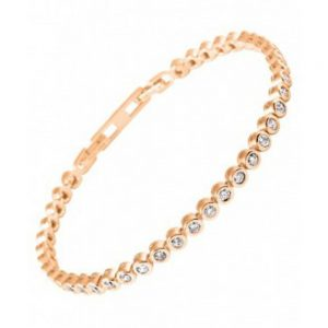 Drakes Jewellers Plymouth, Diamonfire, Gift For Her, rose gold tennis bracelet