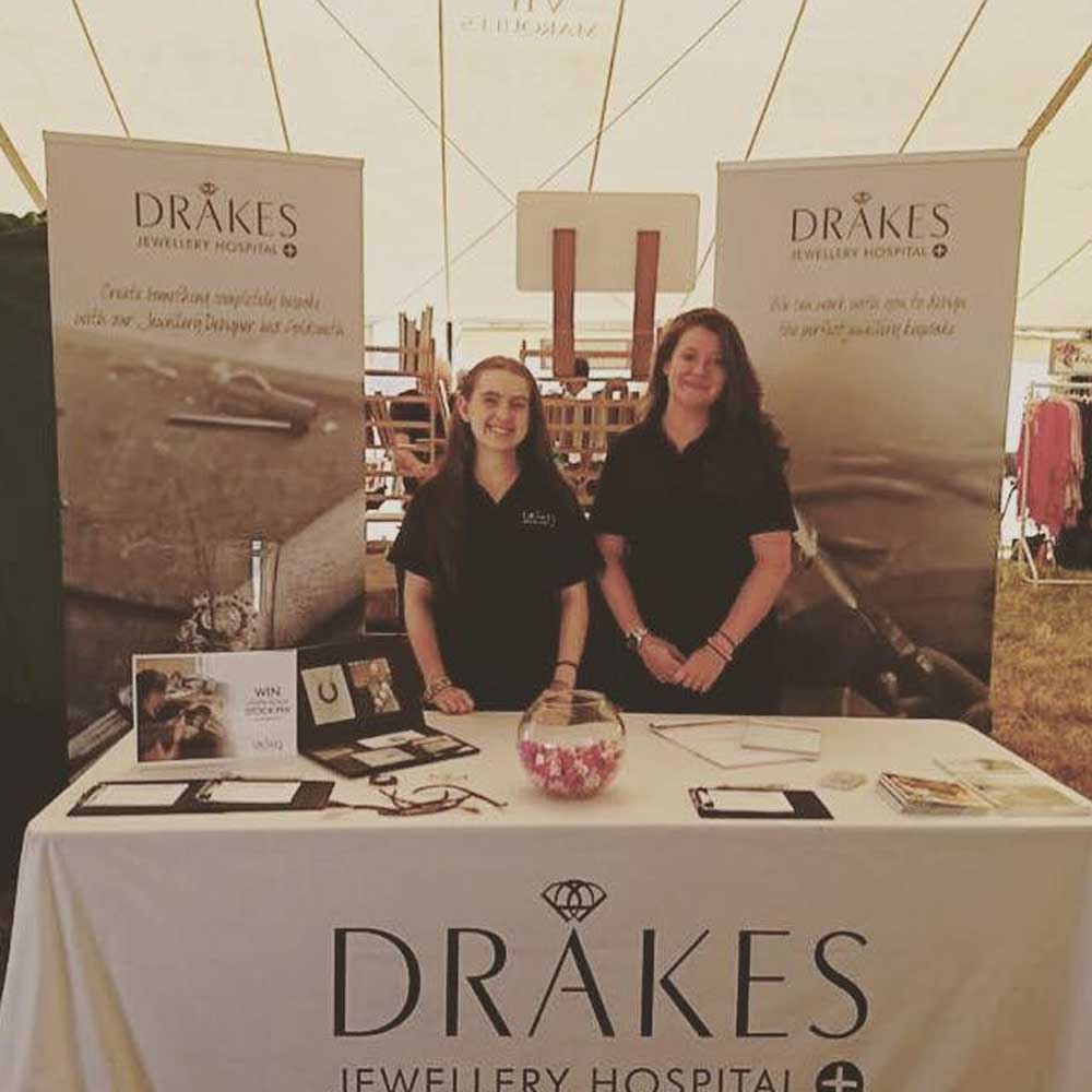 Drakes Jewellers, Agricultural Show, Drakes Jewellery Hospital, Our Story