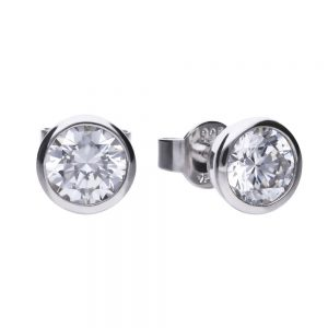 Drakes Jewellers Plymouth, Diamonfire, Gift For Her, round 0.75ct stud earrings