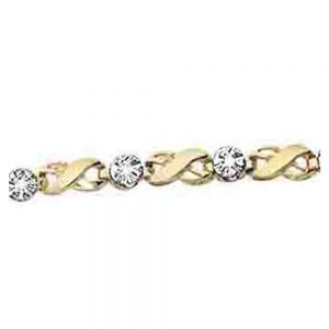 Drakes jewellers Plymouth, white gold ring, diamond Bracelet, Gift For Her, yellow gold and white gold cross bracelet