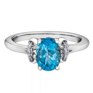 Drakes jewellers Plymouth, Thomas Sabo, jewellery, gift for her, topaz white gold ring