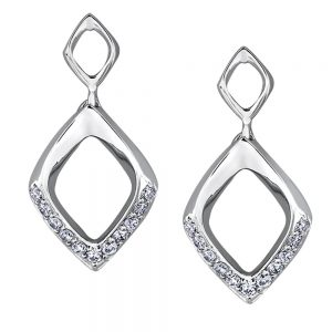 Drakes jewellers Plymouth, jewellery, gift for her, Diamonds, diamond drop earring
