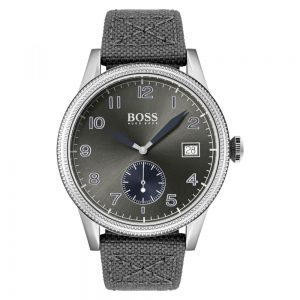 Drakes Jewellers Plymouth, Hugo Boss Watch, gift for him, grey legacy watch