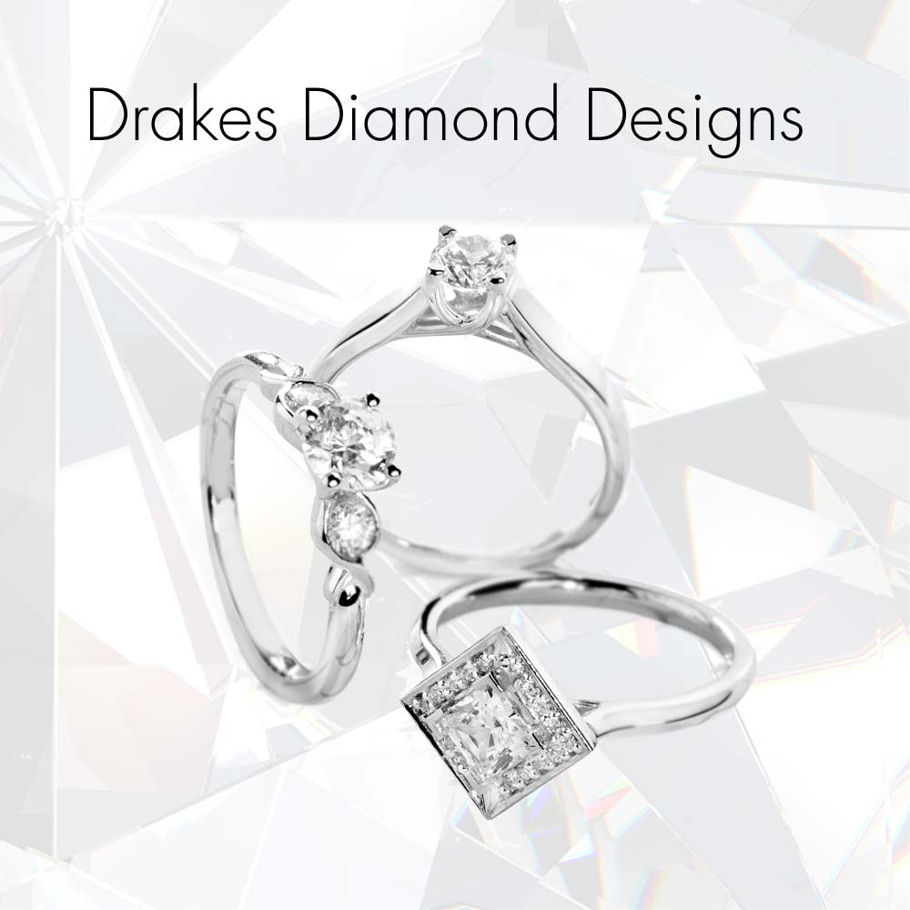 Drakes Diamond Designs, Designed by Drakes, Jewellers, Plymouth