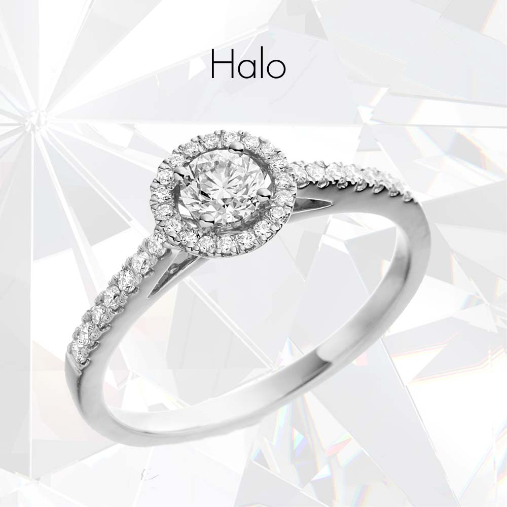 The Halo Collection, Drakes Jewellers, Plymouth, Halo Collection, Halo Jewellery