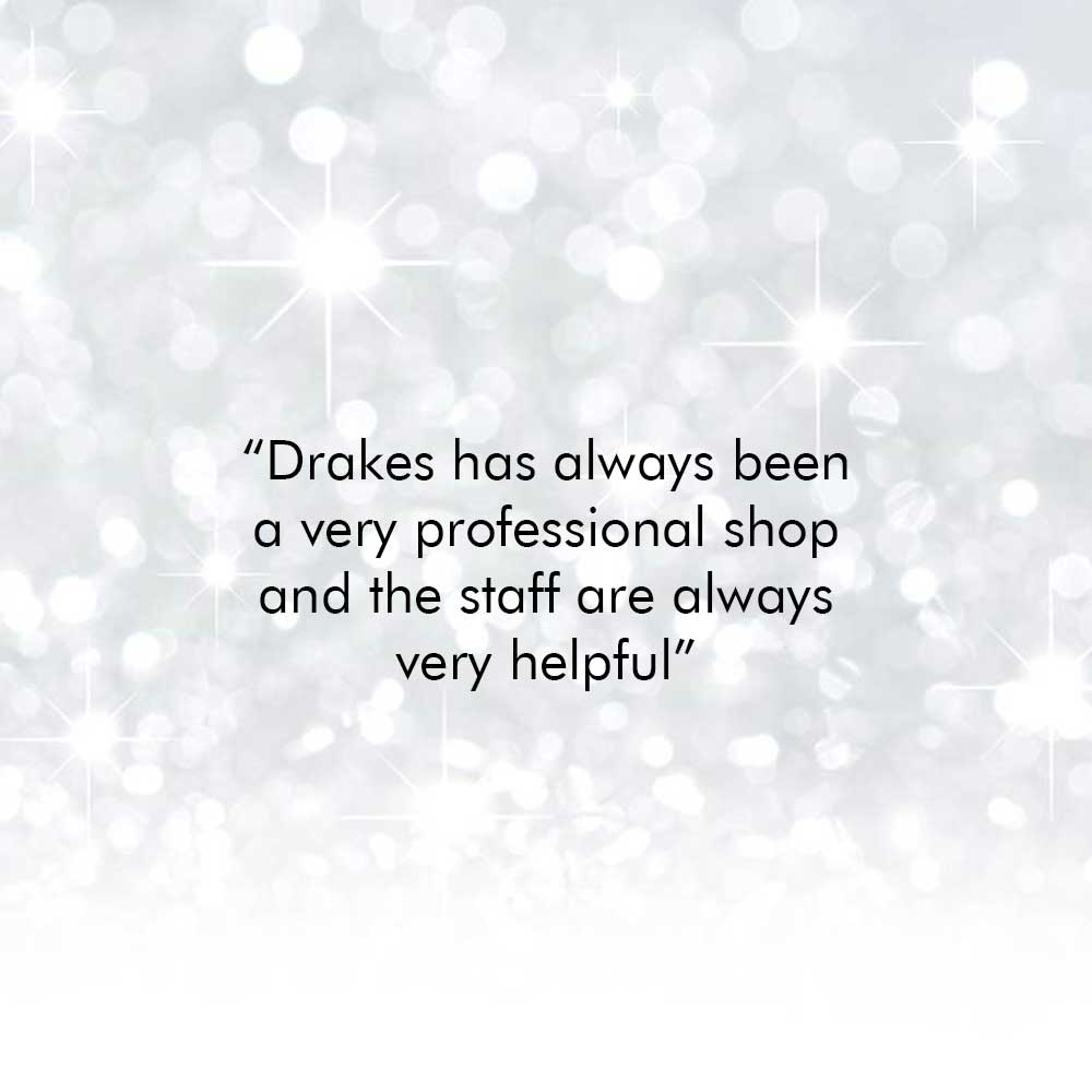 Drakes Jewellers, Feedback, Customer Testimonials