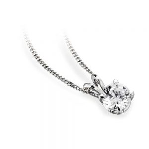 Diamond Pendant, White Gold Pendant, Diamond Pendant, Drakes Jewellers, Plymouth, Diamond Jewellery Plymouth