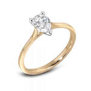 Pear Cut Diamond Ring, Diamond Ring, Drakes Jewellers Plymouth, Diamond Ring Plymouth